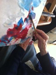 atelier peinture 22 mai 2014